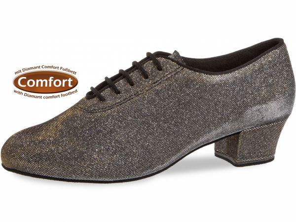 Damen Tanzschuh Diamant Modell 93 Damen Trainerschuh schwarz-silber